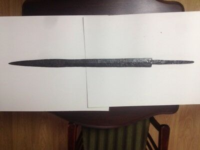 sword for two hands -7 century-found in Russia-91 cm