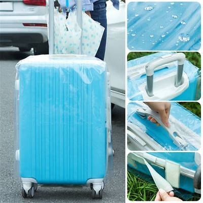 PVC Transparent Travel Luggage Protector Suitcase Cover Bag Waterproof
