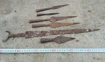 sword Scythians + spears 5 pieces-5 century