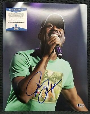 DARIUS RUCKER Signed Autographed Country Music Singer 11x14 Photo. BAS BECKETT