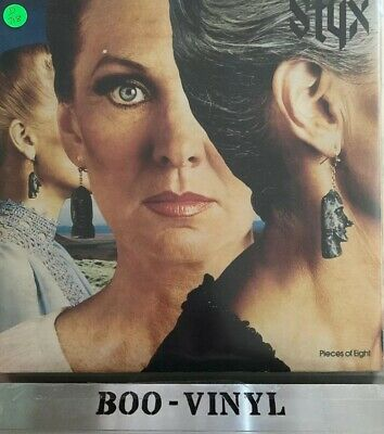 """Styx - Pieces Of Eight - 12"""" LP A&M AMLH64724 1978 Ex Con"""