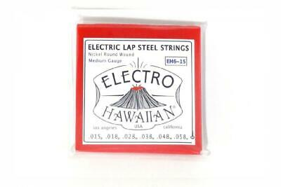 Asher Electro Hawaiian Lap Steel Strings EH6-15 - Single Set for 6-string