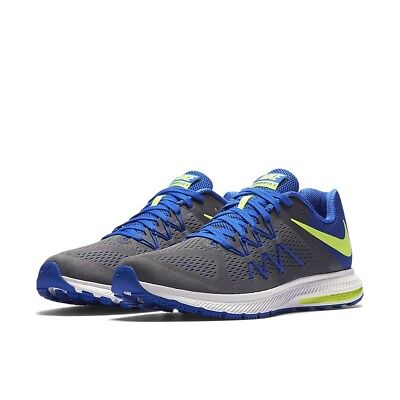 fe808e9a4cdb ... coupon code mens nike zoom winflo 3 running shoes new grey blue volt  msrp 90 79da9 ...