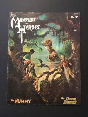 Monsters and Heroes #7 (May 1970, M&H Publications) UNDERGROUND CLASSIC MAGAZINE