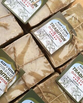 Aleppo soap/Savon d'alep Laurel +olive oil Natural £2.75 Max Post Per Order