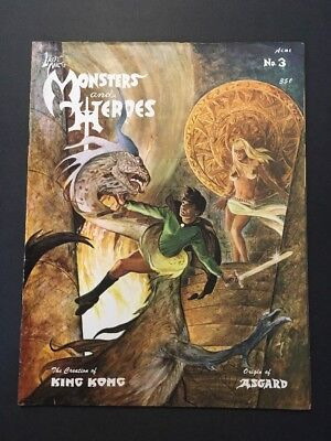 Monsters and Heroes #3 (May 1968, H&M Publications) UNDERGROUND CLASSIC MAGAZINE