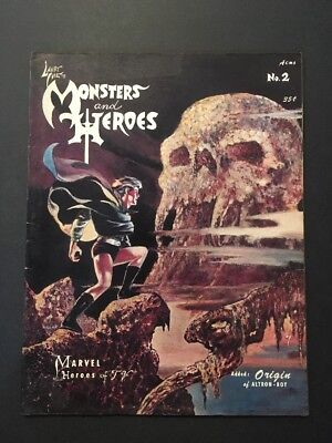 Monsters and Heroes #2 (1967, H&M Publications) UNDERGROUND CLASSIC MAGAZINE