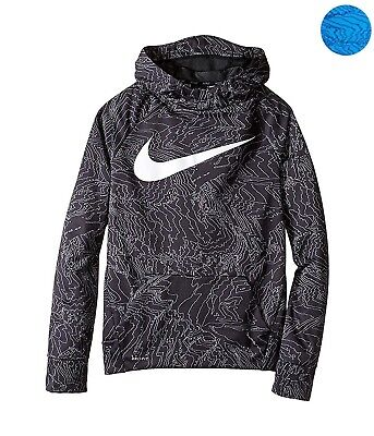 Nike Big Boys' (8-20) Therma Allover Print Pullover Hoodie