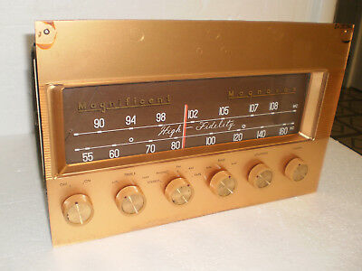 Magnificent Magnavox Stereo AM-FM Tube Tuner / Preamplifier