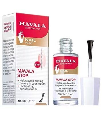 Mavala Stop Nail Biting Polish With Bitter Taste Ages 3 3oz Fast