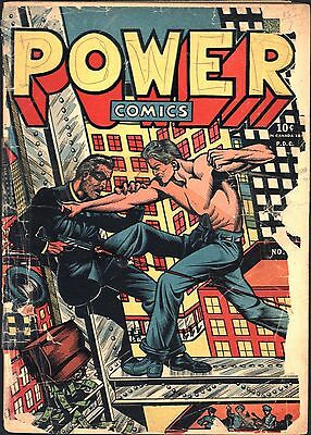 Power Comics #1 Golden Age Holyoke 0.75
