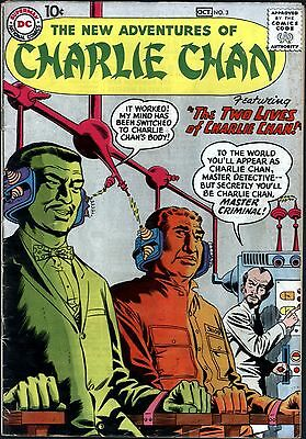New Adventures of Charlie Chan #3 Silver Age DC 4.0