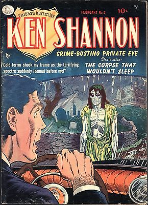 Ken Shannon #3 Golden Age Quality 1.8