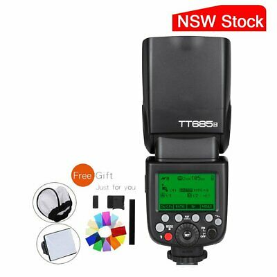 AU STOCK Godox TT685N 2.4G HSS TTL Flashgun Speedlite for Nikon + Free Gifts