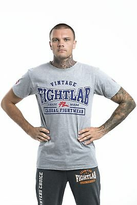 "Muay Thai MMA K1 Fightlab /""Vintage/"" Design T Shirt"