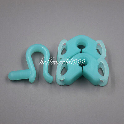 Dental Silicone Mouth Bite Block Rubber Mouth Opener Cheek Retractor Latex Free