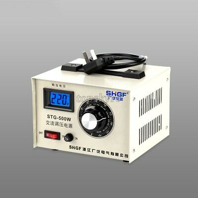 STG-500W Single Phase Autotransformer Voltage Regulator Powerstat 0-300V Output