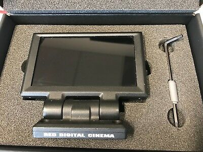 "RED DIGITAL CAMERA DSMC2 4.7"" TOUCH LCD FOR RED Scarlet, Epic, Dragon, WEAPON"