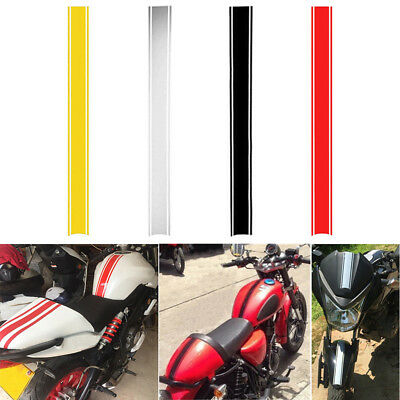 Motorcycle Tank Fairing Cowl Vinyl Stripe Pinstripe Decal Sticker For Cafe Racer
