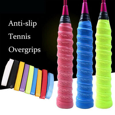 Tennis Badminton Squash Racquet Overgrips Wrap Handle Over Grip Tape Sweatband