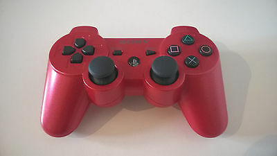 orig. SONY PS3 Controller DS3 Sixaxis rot Playstation Game Pad red guter Zustand