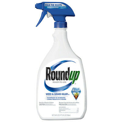 Roundup Ready Use 24-oz Weed and Grass Killer Liquid Vegetable Gardens Flower