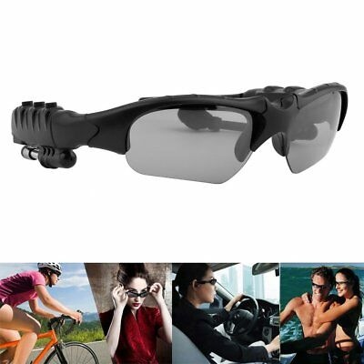 Bluetooth 4.0 Smart Stereo Sunglasses Hands-free Phone Call Durable For iPhone