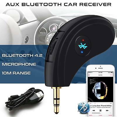 XTECH Wireless Bluetooth Music Receiver Aux Car Streaming Audio Speaker Adapter