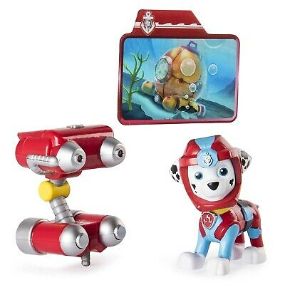 Paw Patrol Sea Patrol Deluxe Figure - Light up Marshall