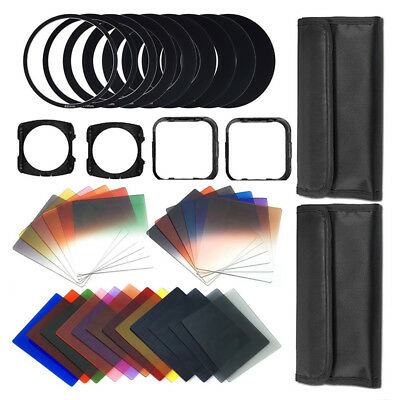 41 Pcs Square gradient lenses + ND Filter Kit I7S4