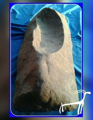 Nice Se Ok Paleo Grinding Stone Metate Mortar Pestle Mano Arrowhead Artifact