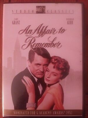 AN AFFAIR TO REMEMBER with Cary Grant and Deborah Kerr - DVD