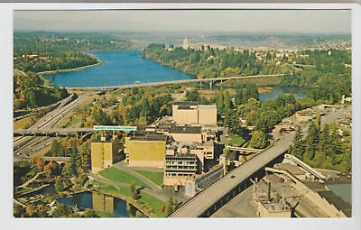 Olympia Brewing Company, Aerial View, Tumwater, Washington, Vintage Postcard