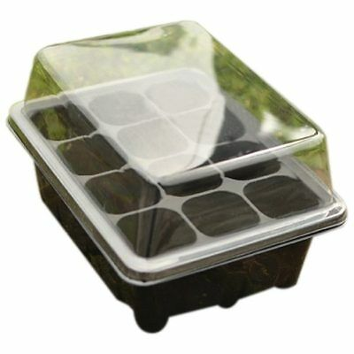 Germination Seed Starter Tray Seed Box Flower Plant Pot For Home Office Dec T7I4