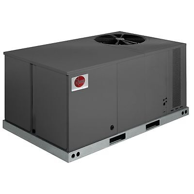 Rheem 5 Ton  Commercial Heatpump Package Unit,,208/230/3 phase
