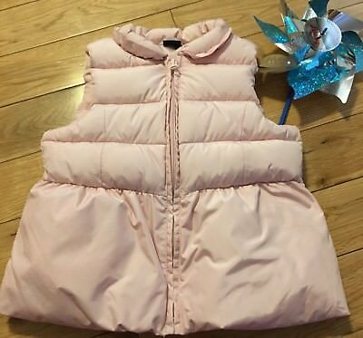 Excellent Gap Kids Girl's Pink  Zip-Up Puffer Vest Pink Size 4 T NEW Pretty!!