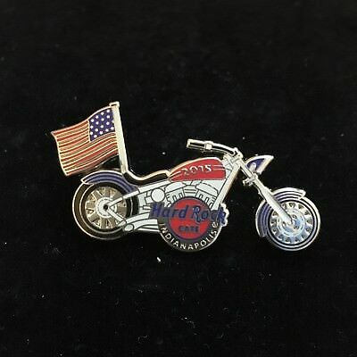 Hard Rock Cafe -  Indianapolis - Chopper with American Flag 2015