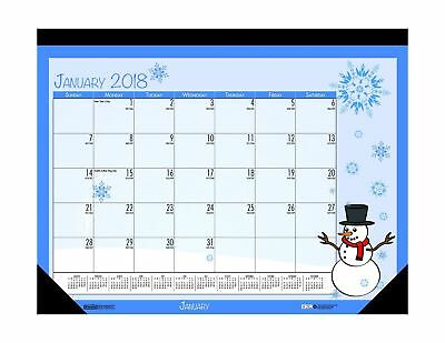 House of Doolittle 2018 Monthly Desk Pad Calendar, Seasonal, 22 x 17 inches, ...