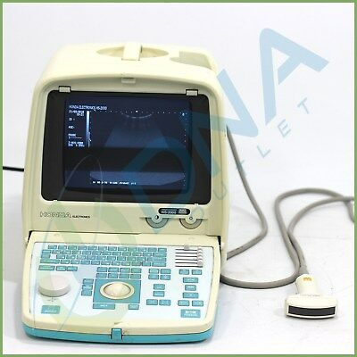 Honda Hs-2000 Convex Scanner Ultrasound Machine + Warranty
