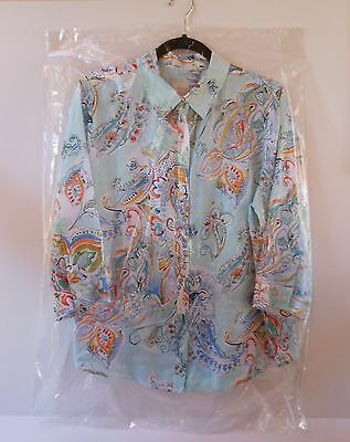 """5 Dry Cleaner Poly Garment Clear Bags MADE IN USA 21""""x4""""x36"""" .65 MIL New Bags"""