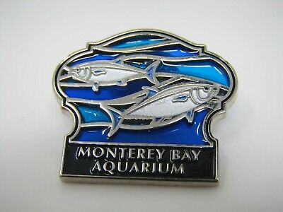 Collectible Pin: Monterey Bay Aquarium Beautiful Blue Design