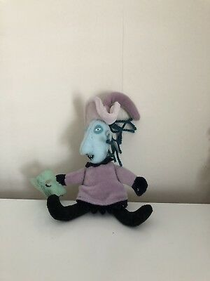 "Nightmare Before Christmas Disney Shock Witch Soft Toy 4"" tall"