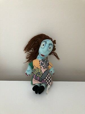 "Nightmare Before Christmas Disney Sally Soft Toy 4"" tall"
