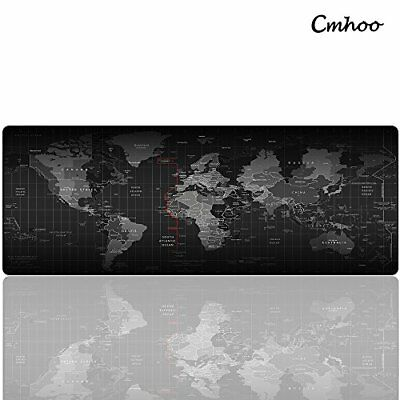 XL Large Mouse Pad Computer Gaming Mat Mice Dest World Map Atlas 31.5*11.8 inche