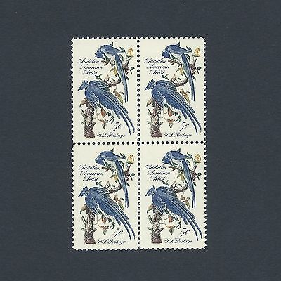 Audubon Society - Collie's Magpie Jays Mint Set of 4 Stamps 55 Years Old!