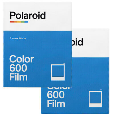2 Pack Polaroid Originals 600 Instant Color Film 4670 for 600 Type Cameras