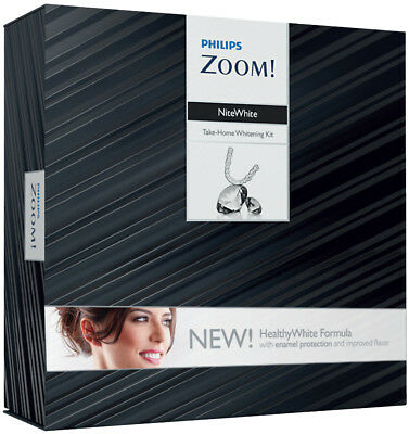 Dental Philips ZOOM NiteWhite Take-Home Whitening Kit 16% 6X Syringes