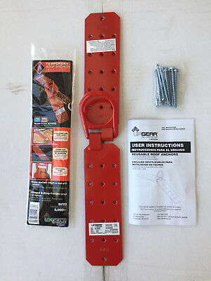 Temporary Roof Anchor - ANSI Z359.1-2007 OSHA 1910 1926 - by Werner - Free Ship