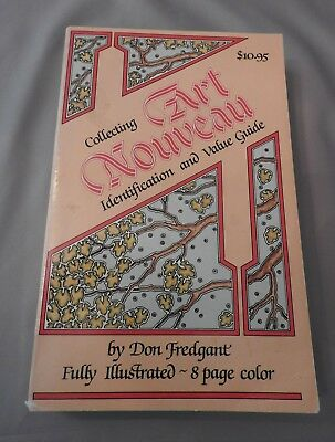 Collecting Art Nouveau Identification & Value Guide Book