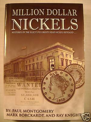 Million Dollar Nickels Book on 1913 Liberty Head 5 Cents Mysteries Revealed Used